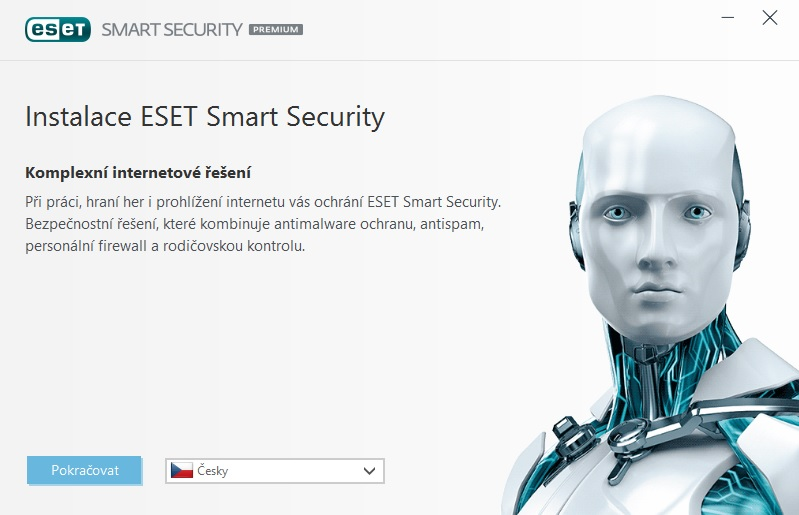 Instalace ESET Smart Security Premium